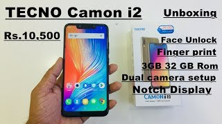 TECNO Camon i2 Hand on Review in hindi Rs.10.500