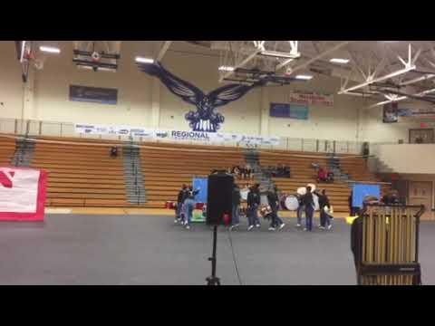 Othello High School WGI Portland Regional 2019 Blue Light
