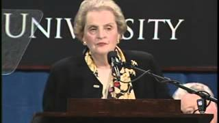 Secretary of State Madeleine Albright on Building a Bipartisan Foreign Policy