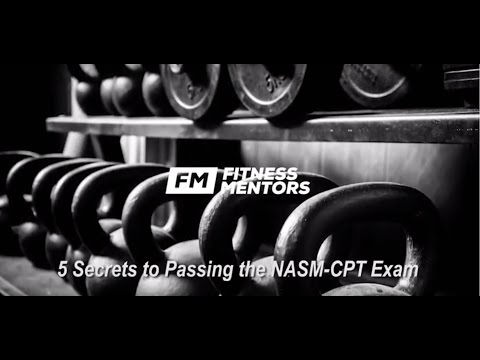 NASM Study Guide: How to Pass Your NASM CPT (5 Secrets)