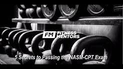 NASM Study Guide: How to Pass Your NASM CPT (5 Secrets)
