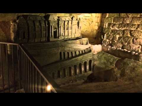 The Catacombs of Paris remains six million people in the ancient Mines of Paris tunnel network