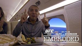 UFC 189 World Championship Tour Embedded: Vlog Series - Episode 5