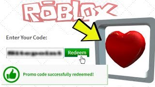 [ROBLOX PROMO CODE] How To Get The Hovering Heart