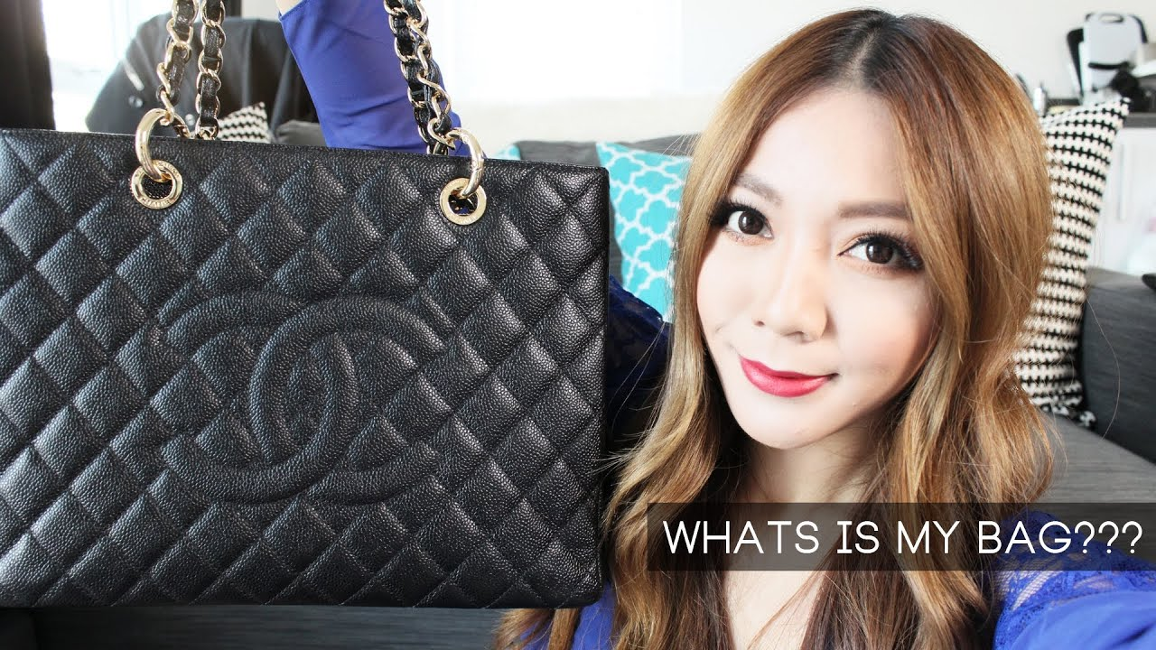 e9e5b49a8ce18b UPDATED Whats In My Bag? (Chanel GST Review) - YouTube