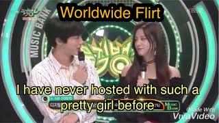 Bts Jin flirting with girls
