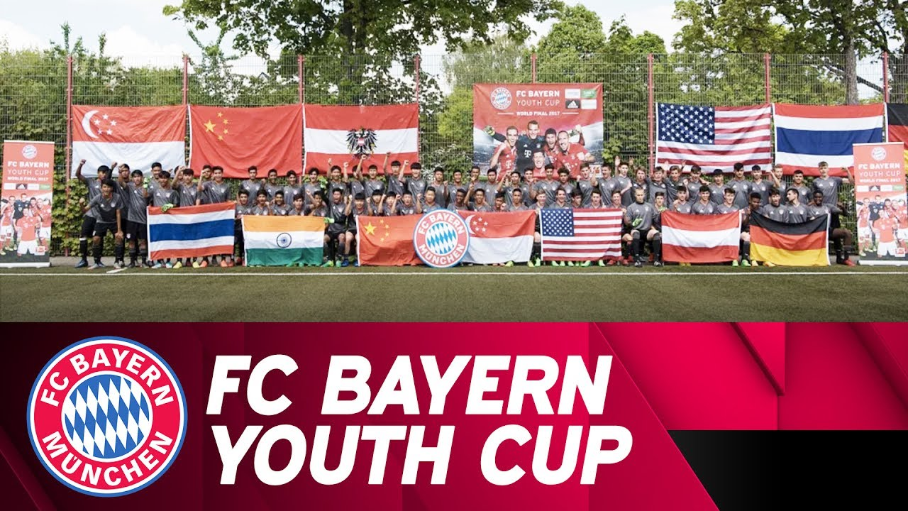 FC Bayern Youth Cup 2017 - 7 Finalists from 7 Countries! - YouTube