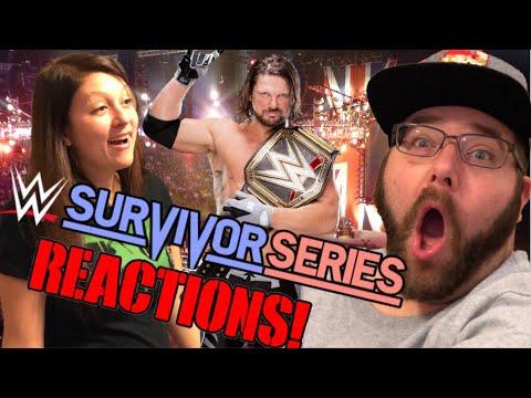 GRIMS HILARIOUS WWE SURVIVOR SERIES 2017 REACTIONS!