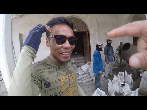 WALKING TOUR OF CONSTRUCTION JOBS IN THE PHILIPPINES TAGBILARAN CITY BOHOL CAPITOL BUILDING PART 1