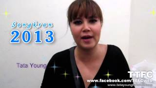 Tata Young to TTFC : Songkran Festival 2013