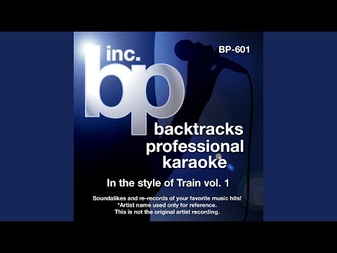 Give Myself To You (Instrumental Track With Background Vocal) (Karaoke in the style of Train)