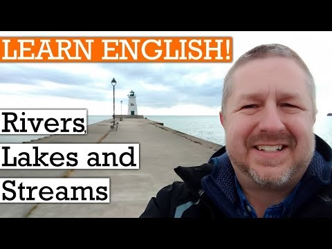 Let's Learn English By Rivers, Lakes, And Streams | A Video To Learn English With Subtitles