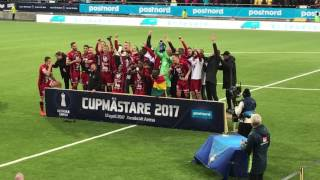 ÖFK - Svenska Cupenmästare 2017
