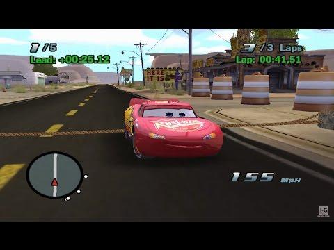 Disney Pixar Cars The Game Gameplay - Part 1 GameCube HD
