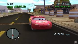 Disney Pixar Cars The Game Gameplay - Part 1 GameCube HD