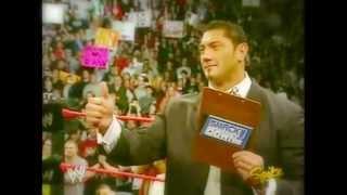 619-Y2J: Batista vs Triple H Promo - Trust