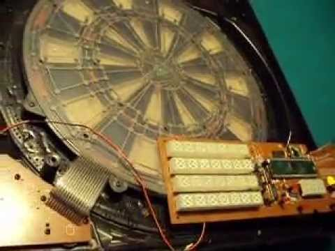 electric dartboard repair - YouTube on