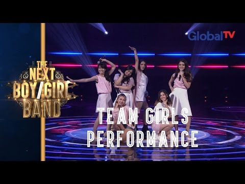 Team Girls Perform 'All About That Bass' (Meghan Trainor) I The Next Boy / Girl Band GlobalTV