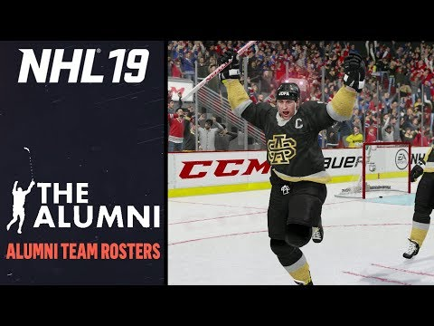 NHL 19 | ALL ALUMNI/LEGEND TEAM ROSTERS