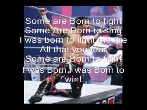 Evan Bourne Theme Song- Born To Win [w/ lyrics]