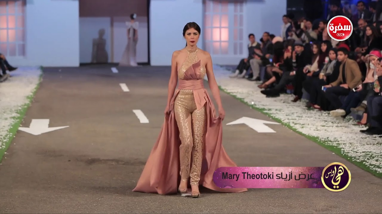 عرض أزياء cairo fashion festival | هي وبس