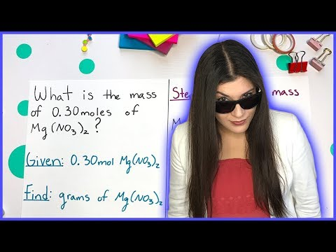 Converting Grams To Moles Using Molar Mass | How To Pass Chemistry