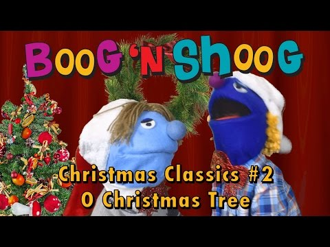 O Christmas Tree Christmas Classics #2 songs and carols for kids with Jenna, Boog n Shoog