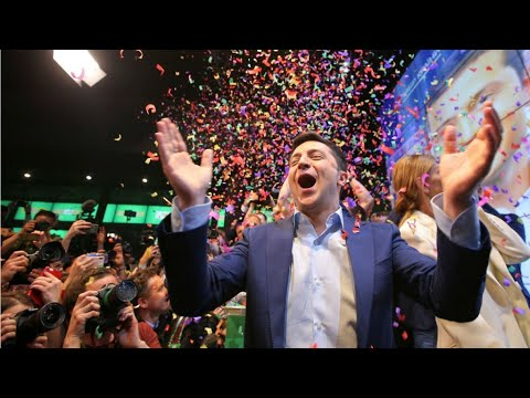 La aplastante victoria de Zelenski en los comicios ucranianos