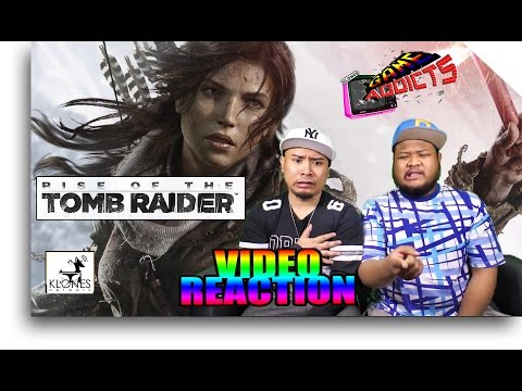 Rise of the Tomb Raider (2015) - Launch Trailer Reaction (Game Addicts)
