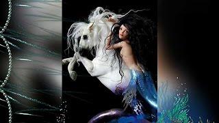 Морской конь и Русалка // Seahorse & Mermaid (Art, Nicole West) HD