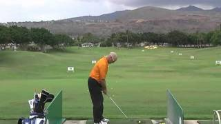 A Perfect Golf Swing - Center Anchor Pivot working the shots - Kapolei10
