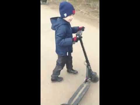 Электросамокат для ребенка. KUGOO S3. Обзор: Куго С3. Часть 1.