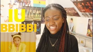 IU(아이유) - BBIBBI(삐삐) MV REACTION [JIEUN CLAPPING BACK AT THE NOSY NETIZENS!]
