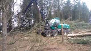 Forest Harvester Silvatec 8266 TH