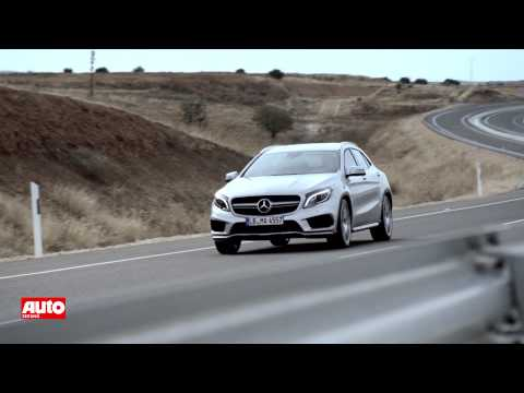 Mercedes GLA 45 AMG 2014: Erstes Video vor Detroit-Premiere