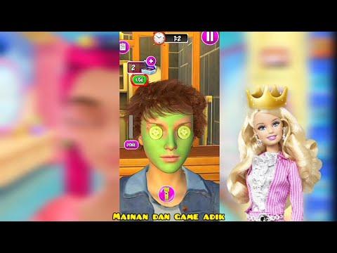Permainan Anak Perempuan Barbie Beauty Spa Salon Kecantikan 3D