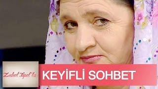 Zuhal Topal la 9 Bölüm Ayşe Teyze ile Talibi İbrahim Amcadan Keyifli Sohbet