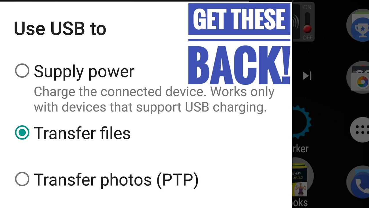 USB Options Not Showing On Android When Connected To PC - How To Fix