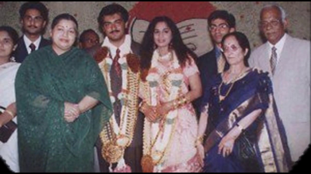 Ajith Kumar Shalini Wedding Album Exclusive
