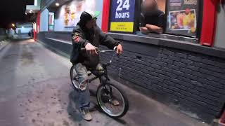 $5000 dollar fine for riding our bikes through the drive-thru?!?!
