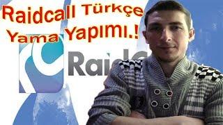raidcall Türkçe Yama Yapımı  son sürüm 8.2.0//raidcall türkçe yapma//raidcall