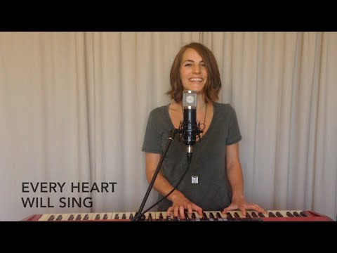 Never Gonna Stop Singing - Jesus Culture WITH LYRICS - cover by Andrea Hamilton