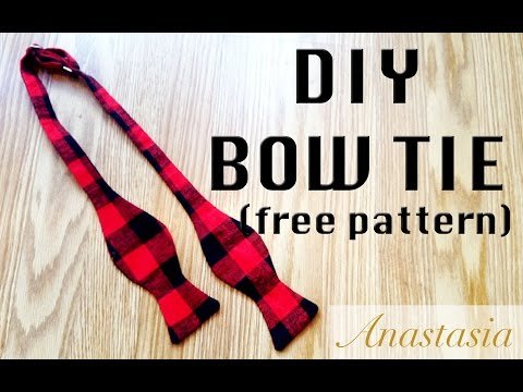Diy Bow Tie Perfect For Holiday Gift