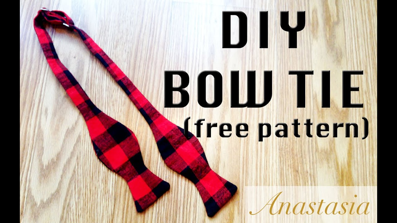 Diy bow tie perfect for a holiday gift youtube diy bow tie perfect for a holiday gift ccuart