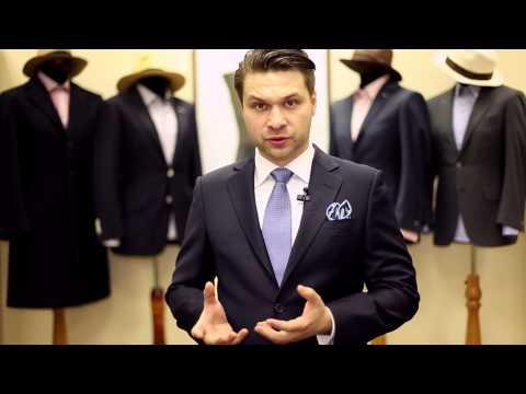 Маскарадный галстук Синий
