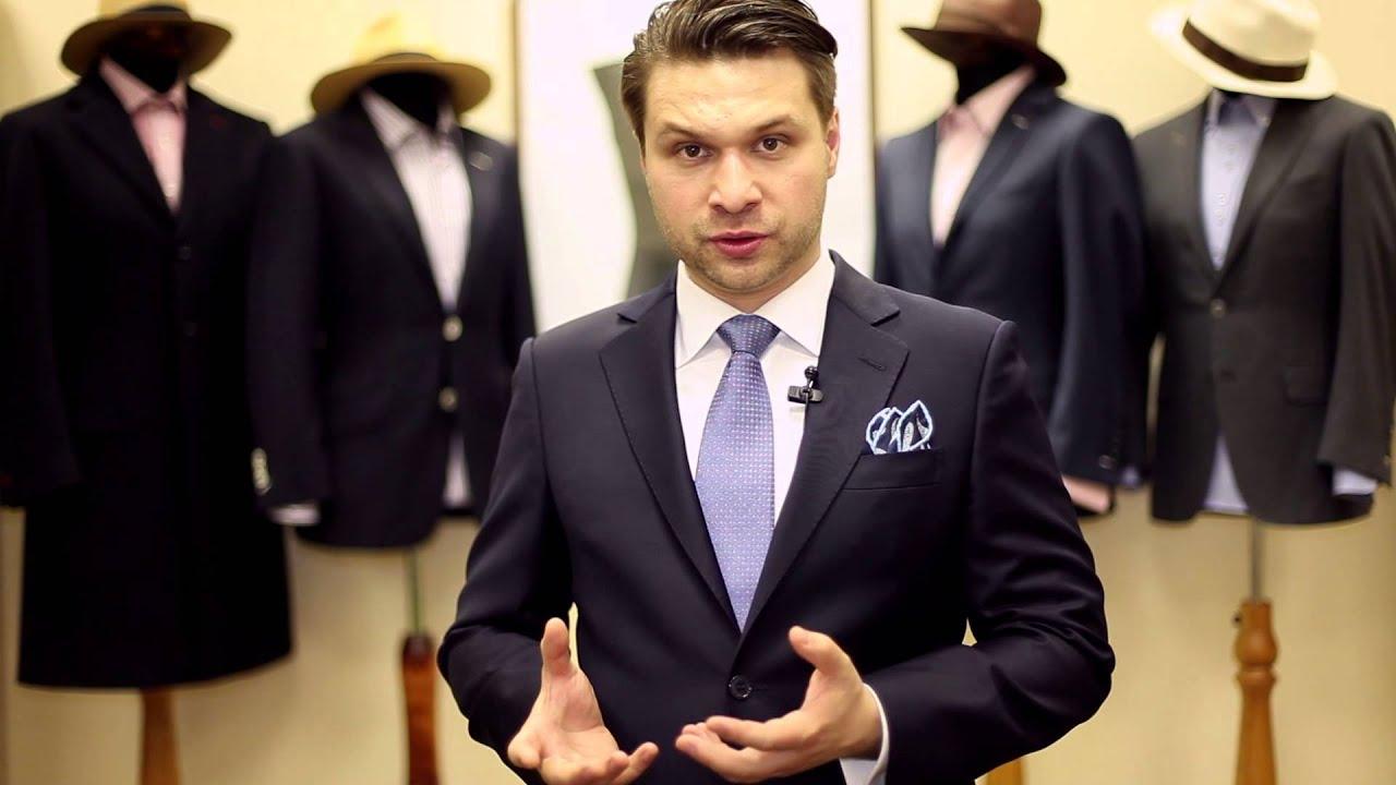 Как правильно подобрать галстук и аксессуары. Grivko - YouTube