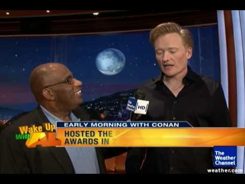 Conan O'Brien's sun protection plan