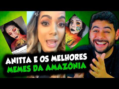 Anitta e os melhores memes da Amazônia