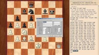 London Chess Classic 2011 8й тур Видеоитоги от Сергея Шипова