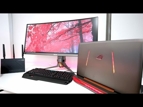 The ULTIMATE Gaming Laptop SETUP of 2017!!!